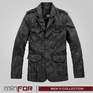 Мужские кожаные куртки 2011. Материал